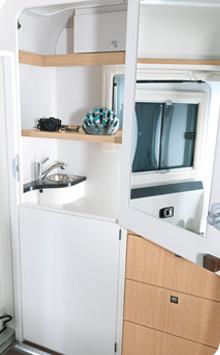 Łazienka zmienia się w szafę – schowek bagażowy jest klasą samą w sobie
